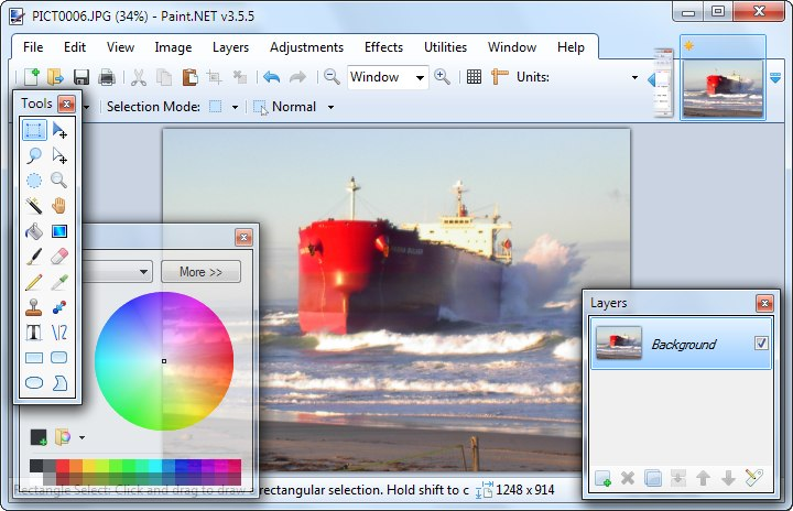 fotoredigeringsprogram gratis pc