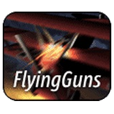 flying guns flygsimulator logo