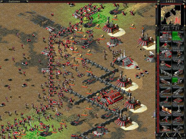 Command & conquer spel