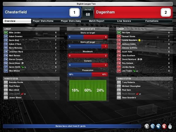 ladda ner Matchday Football Manager gratis