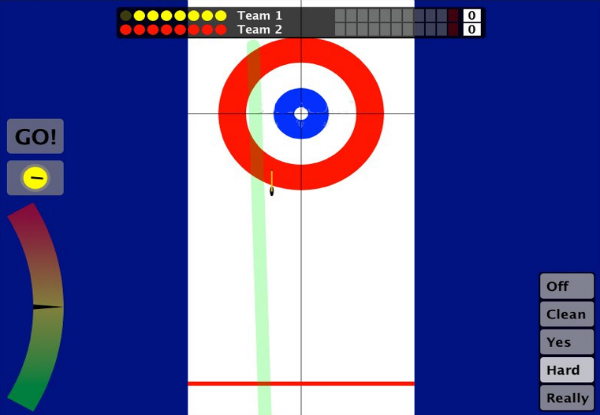 Curling datorspel 1
