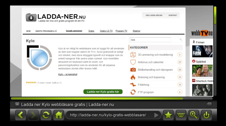 kylo webbläsare