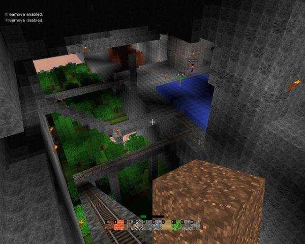 Manic Digger minecraft-kopia