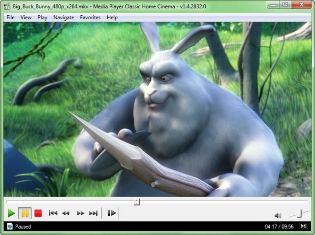 Media Player Classic - Home Cinema gratis mediaspelare