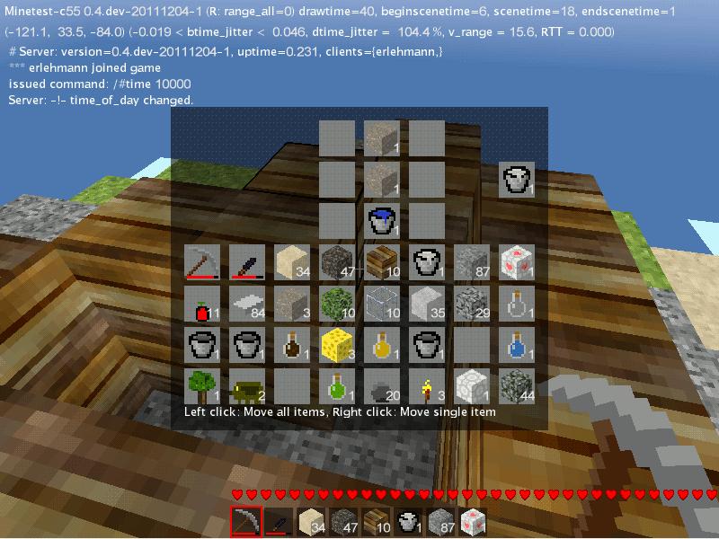 Minetest-c55 minecraft-kopia