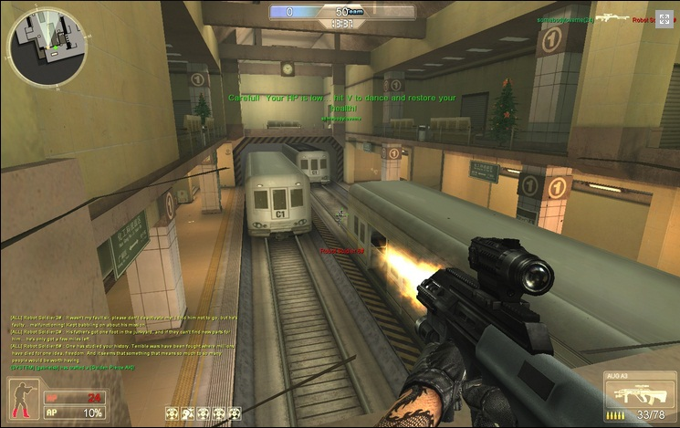 Mission Against Terror MMOFPS