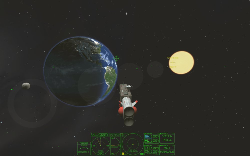 earth space fleet rymdsimulator