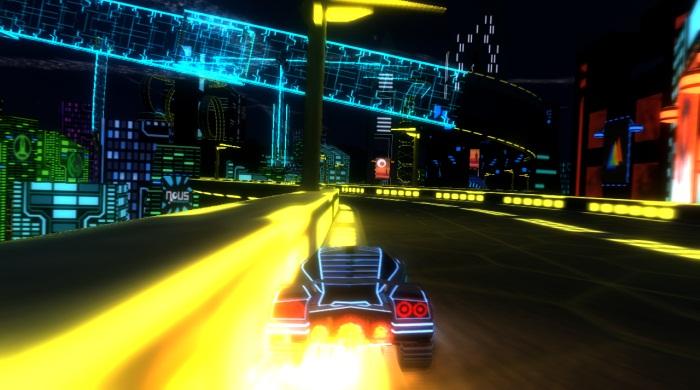 Nitronic Rush racingspel