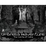 umbrella adventure, handmålat äventyrsspel